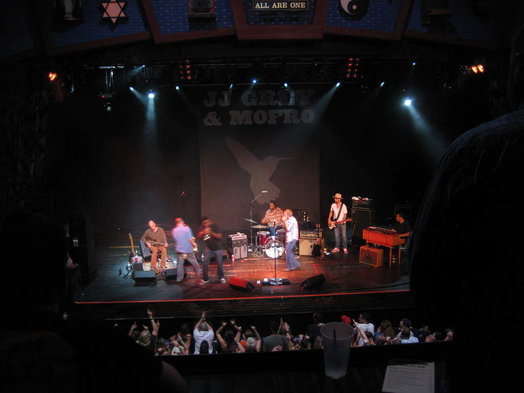 JJ Grey & Mofro, Orlando House of Blues, Sept 09