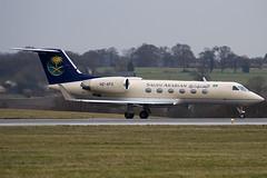 HZ-AFU - Saudi Arabian Special Flight Services - Gulfstream IV - Luton - 090303 - Steven Gray - IMG_0223