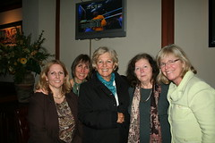 Some of the founding members of CARE - Lisa Scott, Sue Castegnetto, Sarah Burns, and supporter Barbara Shaw.