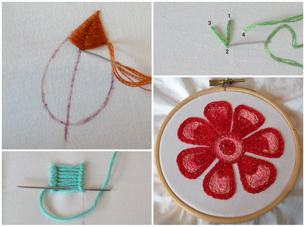 HAND EMBROIDERY STITICHES  Embroidery Designs