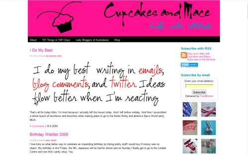 Cupcakes and Mace