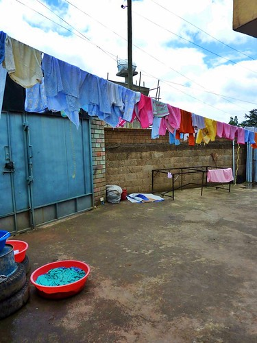 Laundry day, Mercy Home, Ethiopia