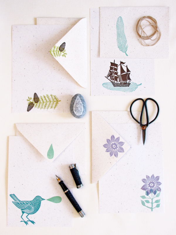 Stamped Stationery