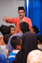 """""""Semua beratur!"""" (Ikatan Muslimin Malaysia Cawangan Hulu Langat) Tags: raya hari aidilfitri sambutan"""