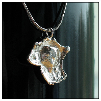 Water cast pendant
