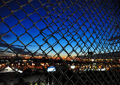 404-730 Brooklyn Sunset (JoelZimmer) Tags: sunset newyork brooklyn nikon bokeh year2 yeartwo d90 project365 nikond90
