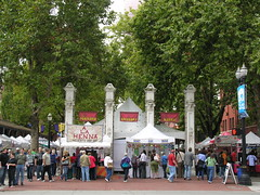 Portland Saturday Market - or part of it