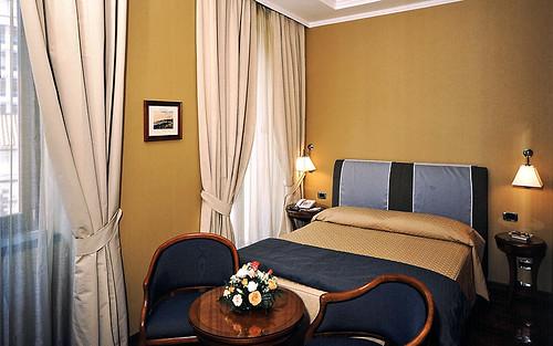 Hotel Palazzo Turchini, Naples, Italy, Bedroom