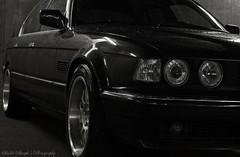 BMW E32 730 (Sindri Skarph) Tags: photography photo dish photos lol deep bmw rims epic myndir sindri 730 e32 mpower 6l skarp skarph sindriskarphsphotography