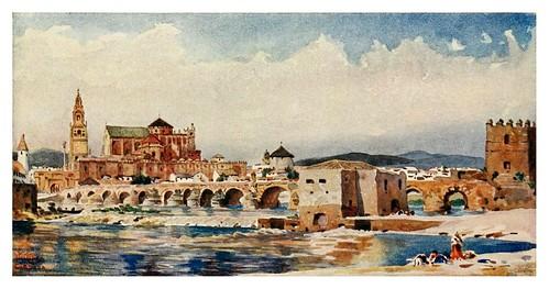 015-Córdoba- El puente-Cathedral cities of Spain 1909- W.W Collins