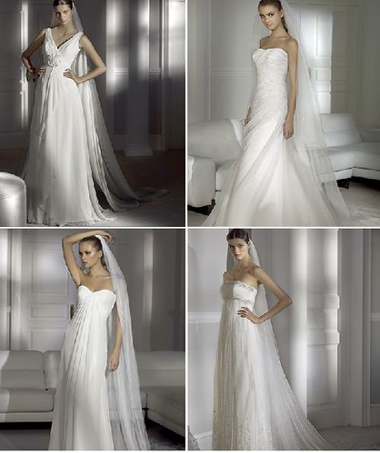 elegant wedding dress accessories, oscar_de_la_renta_spring_2009_wedding_dress_collection5