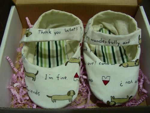 第二雙手作鞋-毓容的二寶