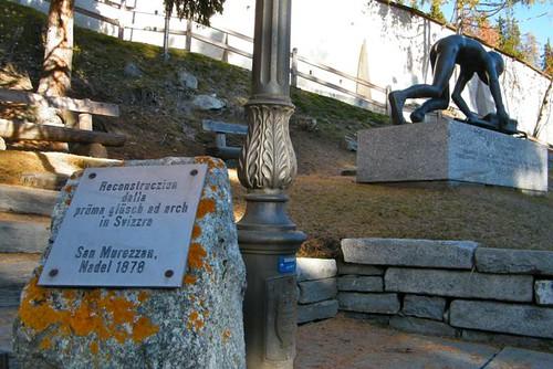 St Moritz, Birth of the bobsleigh/skeleton