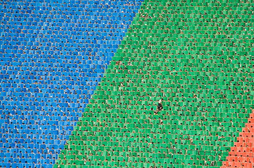 Even during the Arirang Mass Games in North Korea, the ultimate expression of the state ideology, an individual can still sometimes stand out from the crowd and break free of the collective