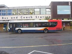 29149, Exeter, 26/11/09 (aecregent) Tags: exeter 29149 stagecoachdevon enviro300 261109 wa59fxf