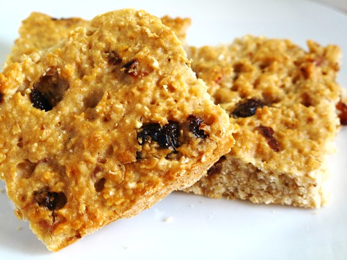 IMG_4691  Low Fat Chewy Raisin Oatmeal Bar