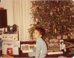Allen at Christmas 1979