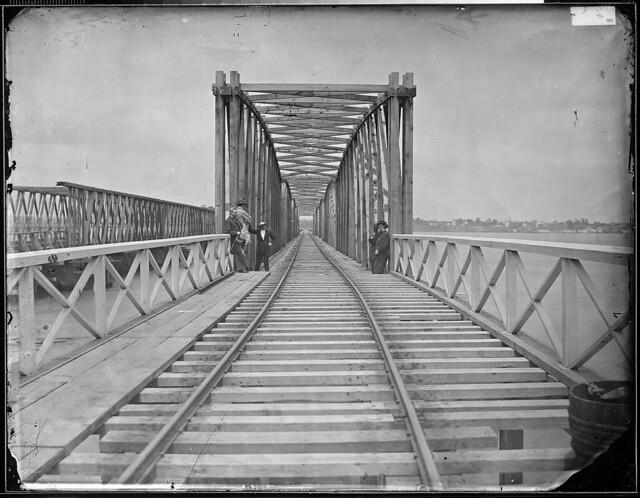 Long Bridge Washington DC by The US National Archives