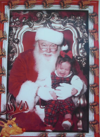 DadCentric's Worst Santa Photo Contest