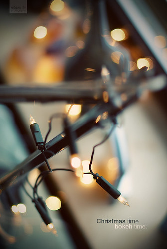 christmas time - bokeh time