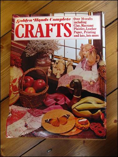 Golden hands complete crafts