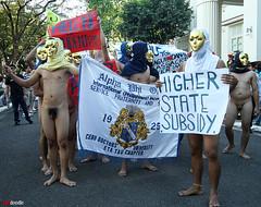 Oblation Run at UP Cebu (jakidoodle) Tags: up canon naked rally apo cebu protests 1022mm oblationrun 400d upcebu etatauchapter