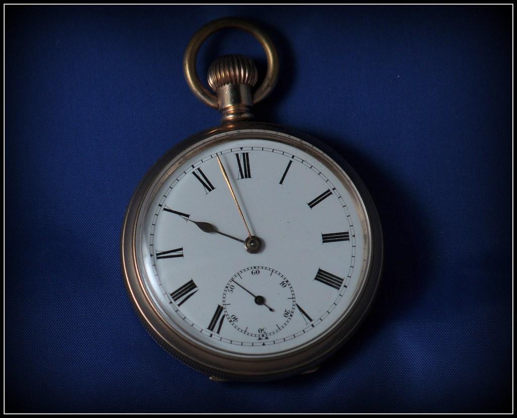 American Waltham Traveller gold pocket watch