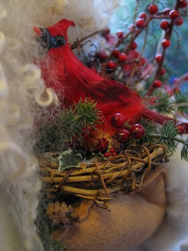 Santa's Cardinal friend