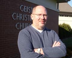 Ryan Hazen, Senior Associate Minster at Geist Christian Church