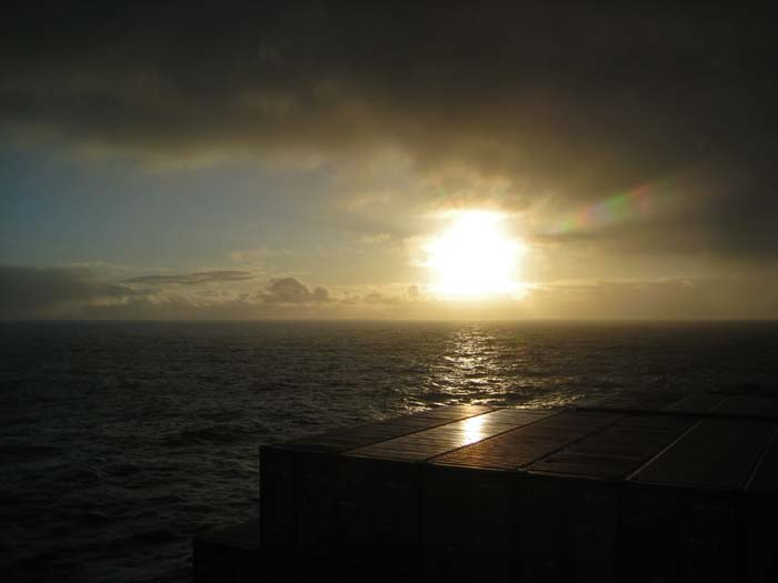 Bering Sea Sunshine