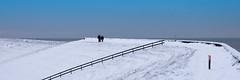 Wat een mooie dag in december (jan-willem wolf) Tags: winter snow holland sneeuw noordzee northsea dijk dike noordholland petten janwillemwolf pettemerzeewering