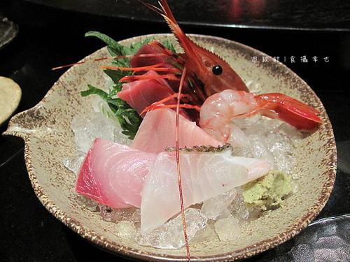 三井午間套餐生魚片