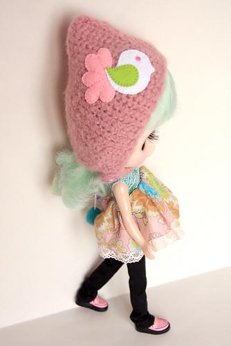 MforM Pink Bird Hoodie