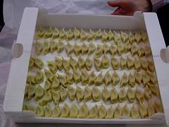 Freshly hand-made scarpinoccs in all their glory (Amenon) Tags: bergamo lombardia lombardy pora dorga bratto bergamasca berghem castionedellapresolana prealpiorobiche scarpinòcc giornategastronomiche scarpinòccdepar