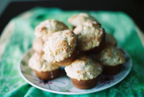 muffins on film.