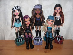 Bratz Treasures (Bratz UK) Tags: jade sasha yasmin treasures bratz cloe roxxi