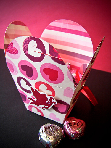 VDay Hearts Takeout Box (Open)