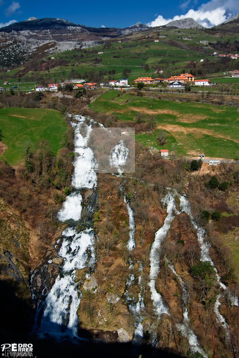 Cascadas del río Gándara - Valle de Soba