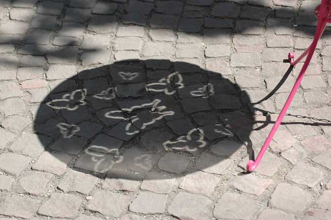Concrete butterflies