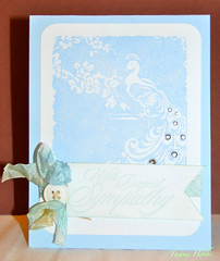 Lilypad Sketch Sympathy Card (Tammy Hobbs @ SomewhereUnderTheSun) Tags: arts hero cg184