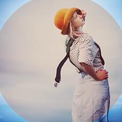 a bit spotty. (karrah.kobus) Tags: sky girl fashion clothes polkadots spots suspenders soooooexcitedaboutitthough mycircleissounevenhahahaha ialsothoughtofasupercoolideaforaphototodaybutitneedsmoreplanningtime