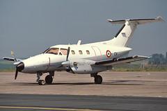 107 - French Air Force Embraer 121 Xingu (egcc) Tags: xingu 121 107 cv embraer cambrai epinoy frenchairforce 121107 lfqi