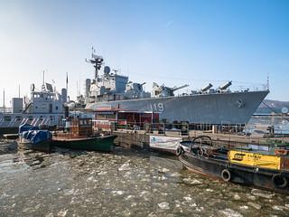 The Marina museum - ships