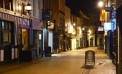 Derby - Sadler Gate (cnmark) Tags: uk unitedkingdom england midlands derby sadlergate road street small cozy pub bar club night nacht nachtaufnahme noche nuit notte noite movement motion ©allrightsreserved