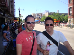 Chicago Pride Parade 2009 (S.S.Poseidon) Tags: prideparade teresa gaypride gayprideparade barbiedoll mattf boystown chicagoil douglasf
