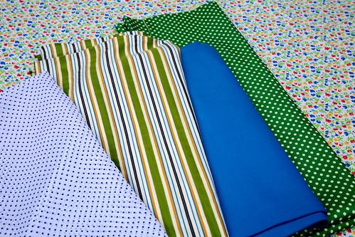 Groen en blauw