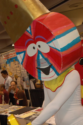 Comic con 2009: Lollipop King