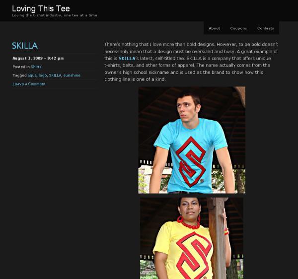 Featured on lovingthistee.com