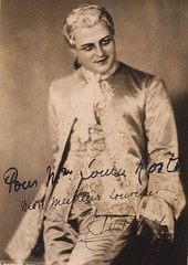 "Andr D'Arkor, as Des Grieux in ""Manon"" by Massenet, Brussels 1935 (Historical Opera Singers) Tags: brussels opera des andr manon 1935 tenor monnaie massenet grieux darkor"