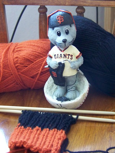 SF Giants Scarf (WIP)